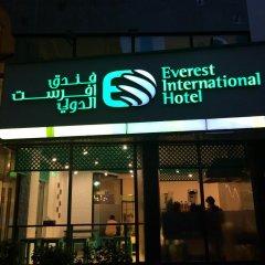 Отель Everest International Hotel ОАЭ, Дубай - 1 отзыв об отеле, цены и фото номеров - забронировать отель Everest International Hotel онлайн вид на фасад фото 4