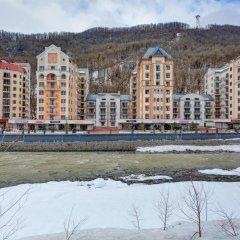 Апартаменты VALSET от AZIMUT Роза Хутор Красная Поляна пляж