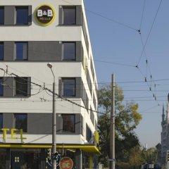 Отель B&B Hotel Dresden Германия, Дрезден - отзывы, цены и фото номеров - забронировать отель B&B Hotel Dresden онлайн приотельная территория фото 2
