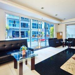 Отель Avenue City Center by MyPattayaStay комната для гостей