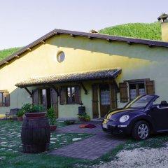 Отель Agriturismo Pompagnano Сполето парковка