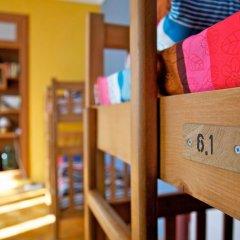 Хостел M42 Кровать в общем номере с двухъярусной кроватью фото 13