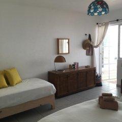 Отель Casa Canario Bed & Breakfast 2* Улучшенный семейный номер с двуспальной кроватью фото 15