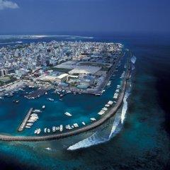 Отель Jen Maldives Malé by Shangri-La Мальдивы, Мале - отзывы, цены и фото номеров - забронировать отель Jen Maldives Malé by Shangri-La онлайн приотельная территория фото 2