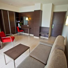 Aqua Hotel Montagut Suites 4* Номер Сьют Стандарт с различными типами кроватей