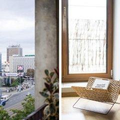 Отель Apartment4you Centrum 1 Варшава балкон