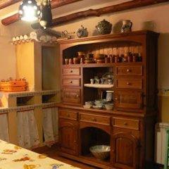 Отель Casa Rural Cabeza Alta Алькаудете питание