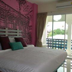 Отель The Pho Thong Phuket 3* Номер Делюкс двуспальная кровать фото 5