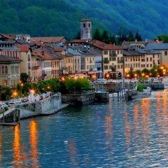 Отель The Cottage on the Lake Италия, Бавено - отзывы, цены и фото номеров - забронировать отель The Cottage on the Lake онлайн приотельная территория