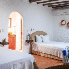 Отель Las Nubes de Holbox 3* Бунгало с различными типами кроватей фото 18