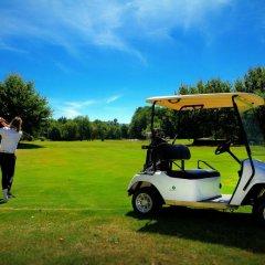Отель Oca Golf Balneario Augas Santas спортивное сооружение