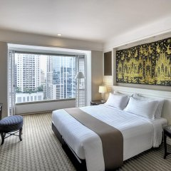 Grande Centre Point Hotel Ratchadamri 5* Номер Grand Deluxe с двуспальной кроватью фото 4