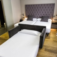 Отель Zenit Abeba Madrid 4* Стандартный семейный номер с двуспальной кроватью фото 2