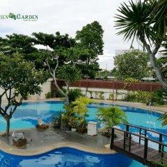 Отель Jomtien Garden Hotel & Resort Таиланд, Паттайя - отзывы, цены и фото номеров - забронировать отель Jomtien Garden Hotel & Resort онлайн бассейн фото 3