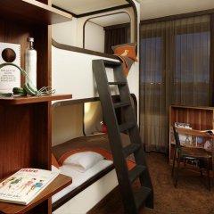 25hours Hotel HafenCity 4* Каюта разные типы кроватей фото 4