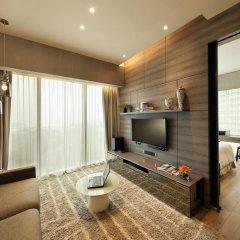 Отель Pan Pacific Serviced Suites Beach Road, Singapore комната для гостей фото 5