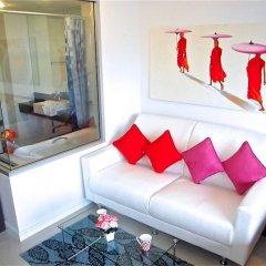 Апартаменты Chic Karon Studio Sea View комната для гостей фото 5