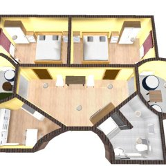 Мини-отель Тукан Апартаменты с различными типами кроватей фото 13