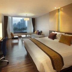 Bangkok Hotel Lotus Sukhumvit 4* Улучшенный номер фото 3