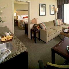 Отель Embassy Suites Fort Worth - Downtown 3* Люкс с различными типами кроватей
