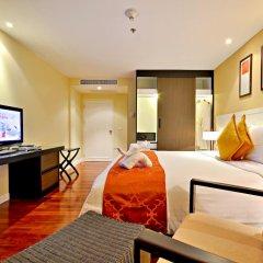 Отель Novotel Phuket Surin Beach Resort 4* Стандартный номер с двуспальной кроватью фото 7