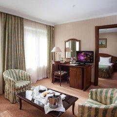 Гостиница Отрада 5* Стандартный номер на цокольном этаже с двуспальной кроватью фото 3