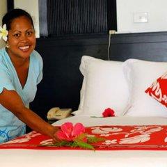 Отель Garden Island Resort Фиджи, Остров Тавеуни - отзывы, цены и фото номеров - забронировать отель Garden Island Resort онлайн комната для гостей