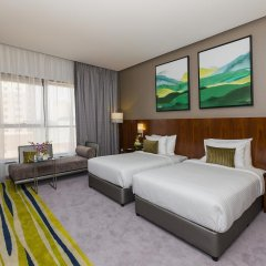 Отель Flora Al Barsha Mall of the Emirates 4* Стандартный номер с различными типами кроватей фото 6