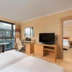 Отель Hilton Vienna 5* Стандартный семейный номер с двуспальной кроватью фото 2
