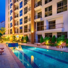 Отель City Garden Pratamnak Condominium By Mr.butler Паттайя бассейн