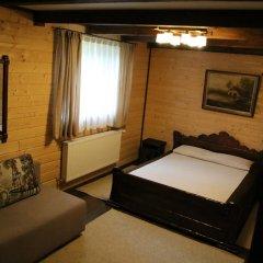 Гостиница Лесная Усадьба Стандартный номер двуспальная кровать фото 9