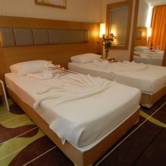 Oba Star Hotel & Spa - All Inclusive 3* Стандартный семейный номер с двуспальной кроватью фото 2