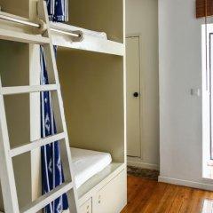 Oporto City Hostel Кровать в общем номере двухъярусные кровати фото 14