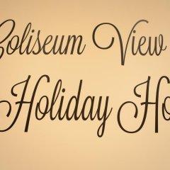 Отель Coliseum View Holiday Home Рим интерьер отеля