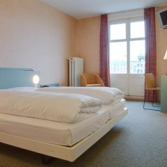 Hotel City am Bahnhof 3* Стандартный номер с различными типами кроватей фото 14