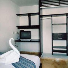 Отель Cancun Ecosuites Мексика, Канкун - отзывы, цены и фото номеров - забронировать отель Cancun Ecosuites онлайн комната для гостей фото 5