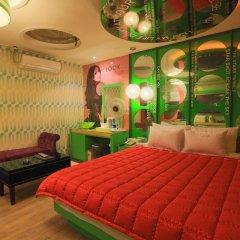 Haeundae Grimm Hotel 2* Номер Делюкс с различными типами кроватей фото 8