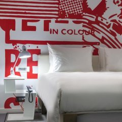 Отель Radisson RED Brussels 4* Студия с различными типами кроватей фото 12
