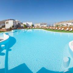 Отель H Hotel Pserimos Villas Греция, Калимнос - отзывы, цены и фото номеров - забронировать отель H Hotel Pserimos Villas онлайн бассейн фото 2