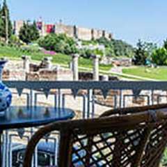 Отель Ephesus Selcuk Castle View Suites Сельчук приотельная территория фото 2