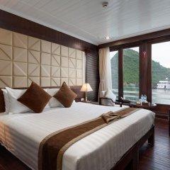 Отель Pelican Halong Cruise 4* Номер Делюкс с различными типами кроватей фото 6