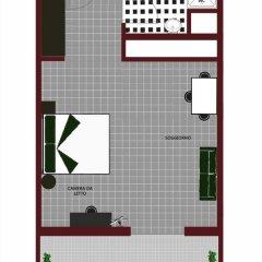 Отель ApartHotel Quadra Key 4* Стандартный номер с различными типами кроватей фото 14