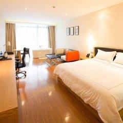 Warmly Boutique Hotel Suzhou Jinji Lake Ligongdi Branch 3* Стандартный номер с различными типами кроватей