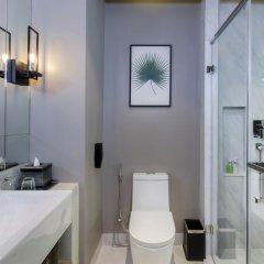 Hotel IKON Phuket 4* Улучшенный номер двуспальная кровать фото 9