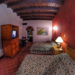 Отель Parador Santa Cruz Мексика, Креэль - отзывы, цены и фото номеров - забронировать отель Parador Santa Cruz онлайн комната для гостей