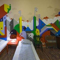 Santico Art Hostel And Guesthouse Стандартный семейный номер фото 6