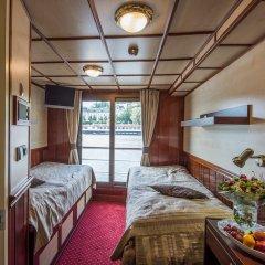 Florentina Boat Hotel Прага комната для гостей фото 3