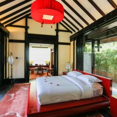 Отель Banyan Tree Lijiang 5* Вилла разные типы кроватей фото 12