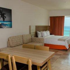 Отель Krystal Cancun Мексика, Канкун - 2 отзыва об отеле, цены и фото номеров - забронировать отель Krystal Cancun онлайн комната для гостей фото 8