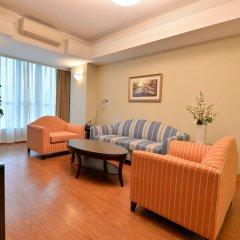 Апартаменты New Harbour Service Apartments Люкс с различными типами кроватей